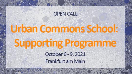 Urban Commons School: Open Call